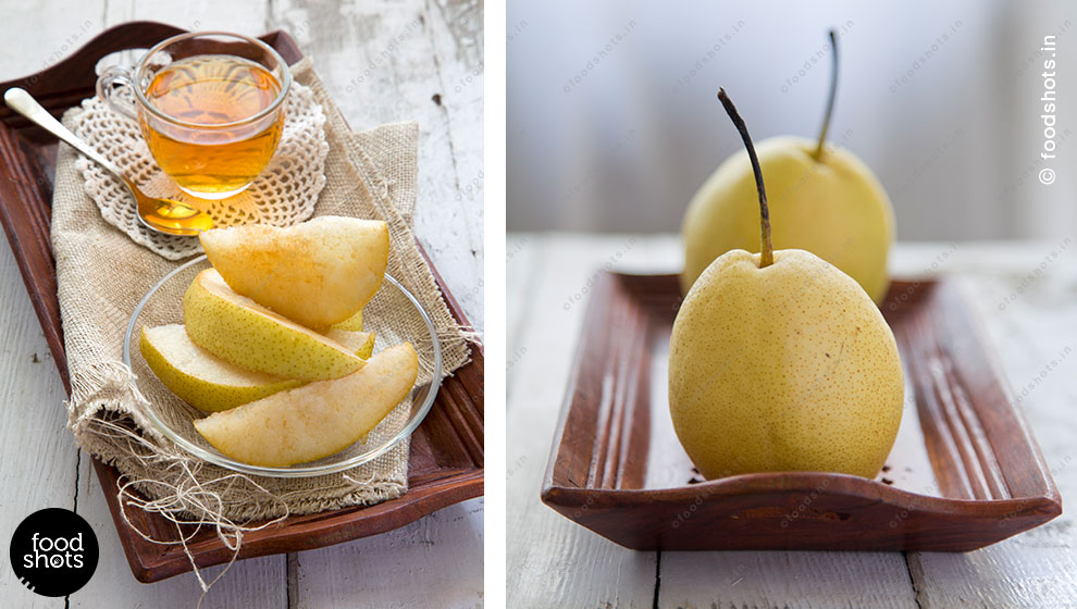 pears | food photography Delhi India