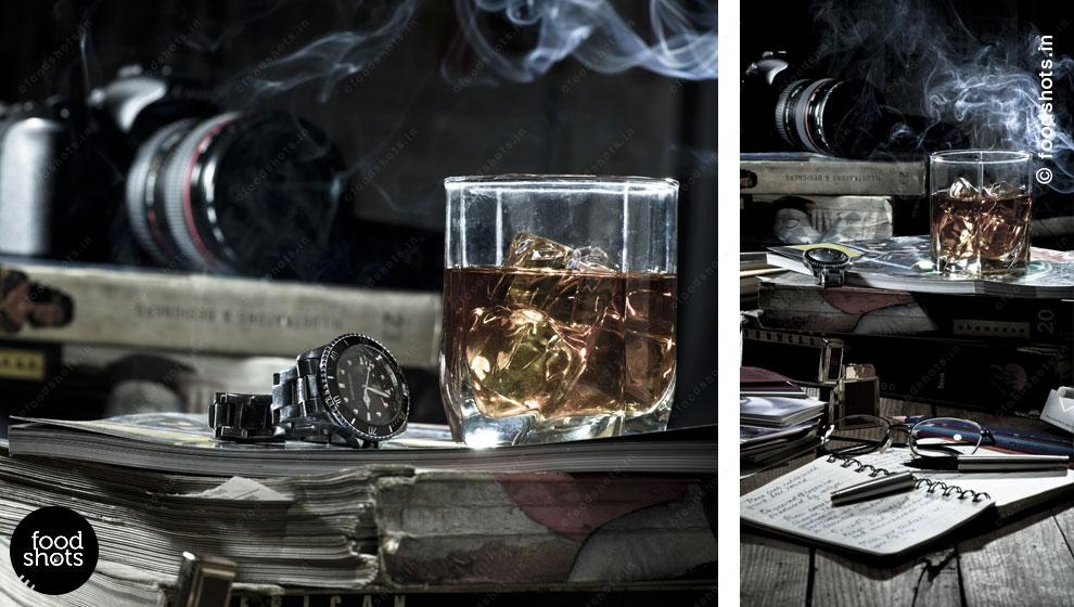 whiskey | food photography Delhi India
