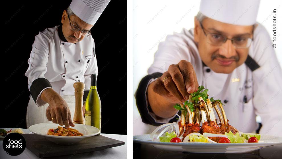 Chef portrait | food photography Delhi India