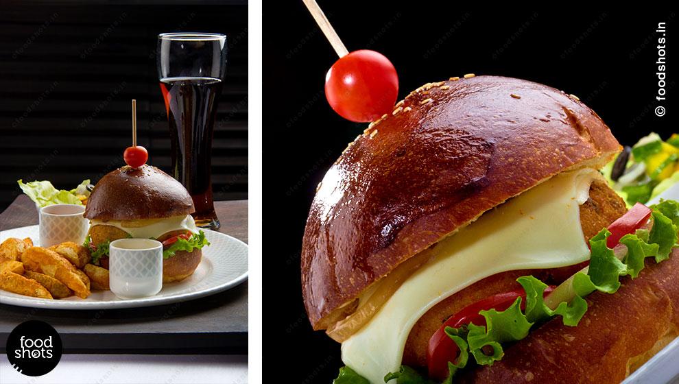 Burger | food photography Delhi India