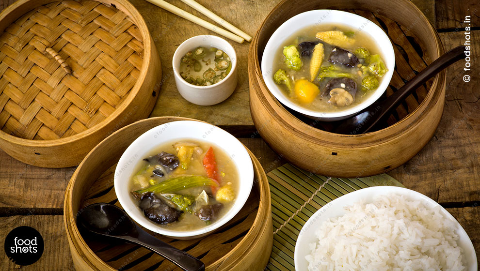 chinese soup | food photography Delhi India