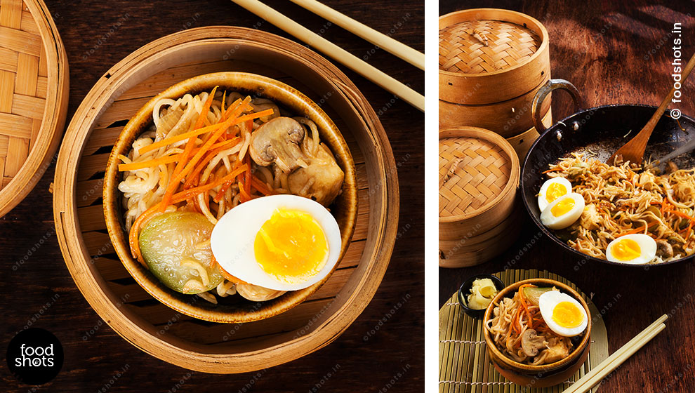 Chinese Noodles | Food Photography Delhi India